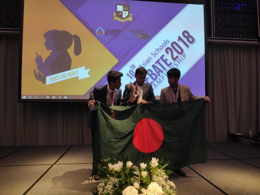 Samin Rahman Debating on Thailand